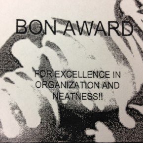 Behavior of the Month - BON